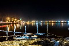 #river #basrah #iraq #view #reflection #night #sony #rx100m2 #shatt_al_arab #_ (Mohammed Al Ali) Tags: reflection night river view sony iraq basrah shattalarab rx100m2
