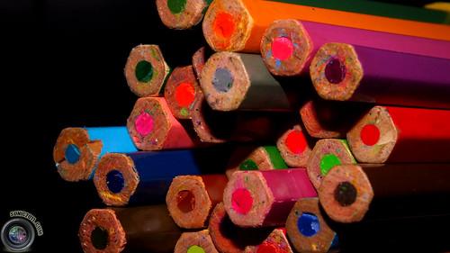 #عدستي#تصويري  #أقلام #ألوان #خشبية #pictorial #Wooden #color #pencils#1