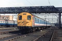 302 217 (Sparegang) Tags: emu britishrail nse networksoutheast class302 geemu ilfordcarsheds 302217 slamdooremu