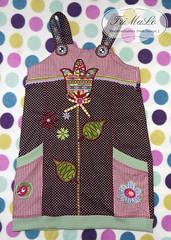 Estelle (TriMaLo #IndiWieDuelles {Web:Design;}) Tags: estelle farbenmix tunika glitzerblume