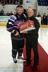 Man Of The Match (Official Manchester Phoenix Photography) Tags: game ice hockey phoenix sport manchester contest icehockey rink match playoffs puck coventry semifinal epl manchesterphoenix mkl englishpremierleague miltonkeyneslightning