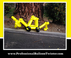 Balloon Twisting in Irvine, CA (professionalfacepainter) Tags: party balloons riverside orangecounty twister costamesa ideas themes lakeforest balloonart