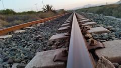 On the road again, Alicante, Spain (GiorgioGiaco) Tags: road city beach train spain alicante treno spagna