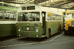 BS1397 KVL449H LINCOLN ST MARKS BUS STATION 19.10.1978 (davruss001) Tags: lincolnshire lincoln 1978 kvl449h