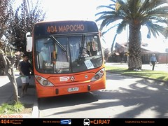 CJRJ47 404 (franco.subus) Tags: santiago de d 4 uno gran express sa zona marcopolo unidad viale transantiago troncal cjrj47