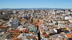 Valencia from Above, Spain (FLJ | Public Transport and Aviation Photography) Tags: from above city valencia de spain view cathedral ciudad espana spanje torres serranos torresdeserranos valenciacathedral