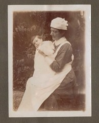 Michael and Pegg 1917 (Bury Gardener) Tags: uk england blackandwhite bw vintage soldier oldies southport 1917
