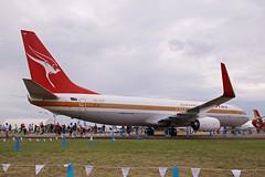 Qantas retro 737 (joolsgriff) Tags: retro boeing qantas avalon 737800 jamesstrong 737838 ymav australianinternationalairshow vhxzp