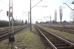 Zduńska Wola train station 09.04.2015 (szogun000) Tags: railroad building station canon tracks poland polska rail railway signal pkp interlockingtower zduńskawola łódzkie canoneos550d canonefs18135mmf3556is d2914 d29810 d29739