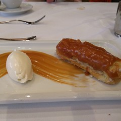 Dessert! A great way to end a $100 #dotcomlunch