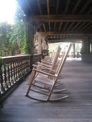 Mohonk 2011 (eliza_chu) Tags: mohonk 2011 chairs ny newyork empty rocking chair