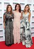 Lotti, Morah and Bonnie Ryan on the Red Carpet at The Peter Mark VIP Style Awards 2015 at The Marker Hotel,Dublin. Pictures Brian McEvoy
