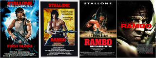 American Rambo one sheet posters