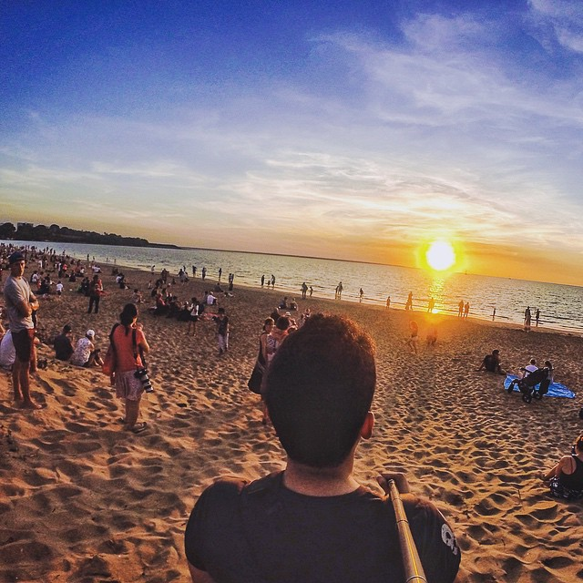 Lots of people showed up this past weekend at the Mindil Market and more and more were at the Beach to enjoy the Sunset 😍 If you are planning to visit Darwin the Market is on every Thursday 5-10pm and Sunday 4-9pm during the Dry Season (May-Oct