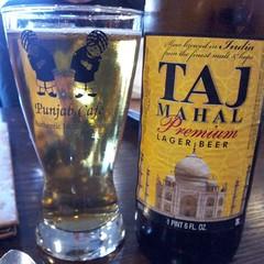 Taj Mahal Premium Lager (Pak T) Tags: india beer restaurant quincy bottle drink beverage samsung tajmahal alcohol tmobile app lager beerporn unitedbreweries punjabcafe untappd samsunggalaxys2 samsunggalaxysii