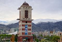 Mount Tochal seen from Ab-o Atash Park (T   J  - Eid Mubarak) Tags: iran tehran d750 nikon teeje nikon2470mmf28
