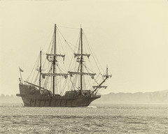 Out of the Past (Frank J Shepley) Tags: ships sail tall tallships galeon