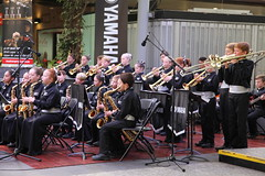 conductor Banksia Beach S.S. band (Photos by Lance) Tags: brisbanecitybandsfestival citysounds brisbanecbd brisbanecitymall queenstreet outdoor music performers schoolbands yamaha symphony