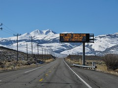 US 395 (Jasperdo) Tags: us395 highway395 california roadtrip landscape scenery snow mountain road highway sign carrychains