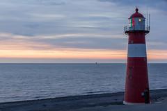 Lighthouse Westkapelle at sunset (Tom van der Heijden) Tags: vuurtoren westkapelle zonsondergang lighthouse walcheren zeeland sunset