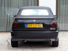Volkswagen Golf 3 cabrio 1997 nr1999 (a.k.a. Ardy) Tags: car softtop rxld82 rxld8201