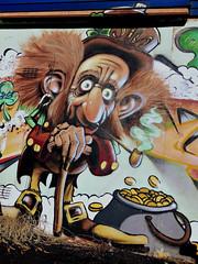 pot keeper (lazarillo de tormes) Tags: streetphotography streetart colors color iphoneography leprechaun