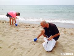 Limpieza playa Viladecans6 (Submon) Tags: viladecans limpieza playa neteja platja basura marina marine litter cleanup voluntario volunteer