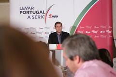 Pedro Passos Coelho em Ansião