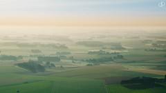 Demain, ds l'aube... (Damien Patard Photographie) Tags: montgolfire campagne normandie paysdecaux balloon ballon hotair