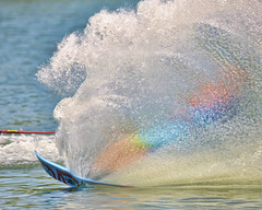 Otherside of the tail (John Rothwell) Tags: stategamessat water ski watersking waterski sports michigan grandrapids competition action color