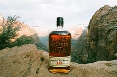 Zion Bulleit 10 year (cris_that1) Tags: park 35mm minolta national whisky zion bourbon x700 bulleit