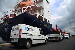COE Leni (DST_8474) (larry_antwerp) Tags: coeleni 9453793 navitec reparatie onderhoud shiprepair antwerp antwerpen       port        belgium belgi          schip ship vessel