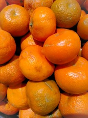 Citrus (Thad Zajdowicz) Tags: citrus food store grocery tangerine orange color fruit pasadena california zajdowicz indoor cellphone photoshopexpress motorola droid turbo smartphone cameraphone android mobile availablelight closeup supermarket shape round curves creativecommons