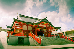 Hanazono Shrine in Shinjuku, Tokyo (shwetabh.mittal) Tags: japan tokyo shrine asia religion buddhism serene shinto travelbug landoftherisingsun