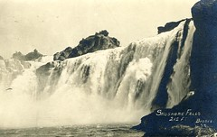 [IDAHO-B-0160] Snake River - Shoshone Falls (waterarchives) Tags: idaho snakeriver river realphotopostcardrppc shoshonefalls falls