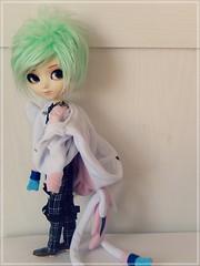 Desafio 7 dias - dia 5: Yue - Isul Duke (Pliash) Tags: isul duke boy colors pastel hair green mint cute kawaii sylveon pokemon costume