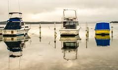 Idle_DSC5431 (Mel Gray) Tags: swansea lakemacquarie newcastle newsouthwales lake water australia fishingboat