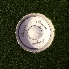Hole in one (almost) (Bex.Walton) Tags: london swingers crazygolf thecity minigolf
