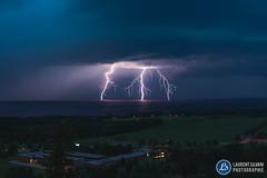 Orage du 21 juillet au Lac-Saint-Jean (Laurent Silvani) Tags: laurentsilvani orage saguenaylacsaintjean storm canada lightning clair foudre orageaulacsaintjean