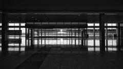 zerozeroduecinque (Dario Cogliati) Tags: dariocogliati blackwhite blackandwhite bw architecture architettura bianconero biancoenero reflections xiannorthrailwaystation  xian cina china railway