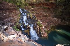 Dales Gorge from above (Hideaki Edo) Tags: australia karijini karijininationalpark waterfall sunset water landscape wildlife