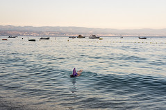 (Paul Bauer Photo) Tags: paul bauer croatia kroatien shark kid baby swimming swim moscenicka draga istrien istria
