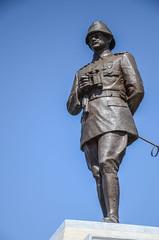 Ataturk in Bronze (Allison Mickel) Tags: nikon d7000 adobe lightroom edited turkey gallipoli history museum war wwi battle monument memorial statue ataturk