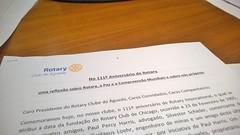 Rotary e a Paz e compreensão Mundial