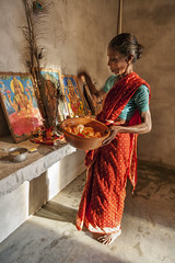Puja 6627 (shahidul001) Tags: religion faith belief hindu hinduism puja worship ritual perform performing woman female elderly old aged srilankan vertical color colour srilanka southasia asia drik drikimages