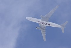 Qatar Airways Cargo Airbus A330 (Deanster1983 who's mostly off) Tags: photo a330 qatar airbus airline civil freighter jet cargo aviation freight aircraft a7afz airways industrie