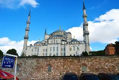 Mosque (mrjoshstewart) Tags: mosque turkey istanbul europe asia travel abroad islam muslim church hd highdef highdefinition coup overseas wanderlust photography sharp sky blue bricks sign 2016 nikon canon d3200