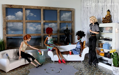 help yourself (photos4dreams) Tags: visitorsinthebeachhouseiip4d barbie doll cateblanchett photos4dreams p4d photos4dreamz toy puppe movie film stepmother stiefmutter tremaine faceup makeup dollmakeupartist modelhelenap4d dress mattel barbies girl play fashion fashionistas outfit kleider mode puppenstube tabletopphotography cinderella helenabonhamcarter bonham carter goodfairy gutefee fairygodmother 60s sixties brownstone ny newyork blonde blond phicenbody spielzeug seamless 16 action figure female weiblich actionfigure actionfigur aa