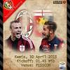 Lokasi Nobar: Next Match - @mibassanggau #sanggau Giornata 33 | AC Milan VS Genoa | Kamis, 30-04-2015 | Pukul 01.45 Wib | #ForzaMilan