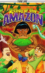 Riches of the Amazon (Vernon Barford School Library) Tags: new school fiction history reading book high amazon rainforest graphic library libraries reads books read paperback cover junior timeline novel covers graphicnovel bookcover middle vernon recent bookcovers paperbacks graphicnovels novels fictional readers barford rainforests softcover leighdragoon readingmaterials vernonbarford softcovers christophersweeney 9781554482443